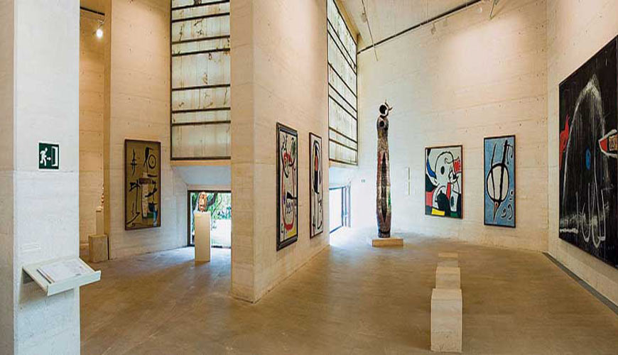 The Joan Miró Museum in Palma