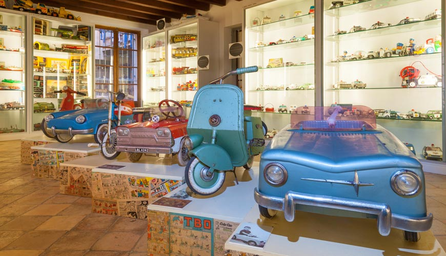 The Toy Museum in Palma de Mallorca