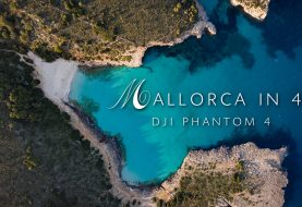 View beautiful Mallorca from above